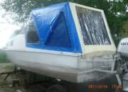 Тент на лодку из ПВХ тканей и пленок