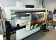 Широкоформатная печать на тенте