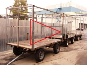 сварка грузовой тележки