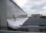 навес на крыше