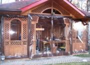 шторы ПВХ в деревянную беседку - заказывайте круглый год!